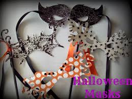 Halloween Masks Crafts by Halloween Masks Tutorial Food Crafts And Family
