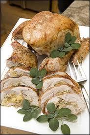 turkey mushroom gravy recipe details julia and jacques u0027s deconstructed turkey with corn bread stuffing