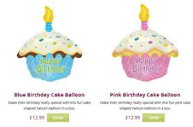 balloon in a box helium balloon in a box free uk delivery 12 99 cheap