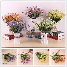 Artificial Flowers For Home Decoration Dried U0026 Artificial Flowers Home Decor Home Furniture U0026 Diy