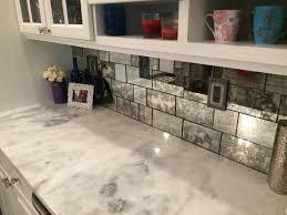 Glass Subway Tile Backsplash Kitchen Mirrored Subway Tile Backsplash Kitchen Vanity Decoration