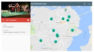 atascocita map map of lights in humble kingwood atascocita tx