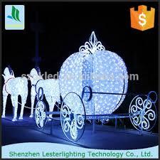 light up acrylic santa claus reindeer sleigh christmas decoration