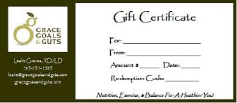 online gift certificates online gift certificates grace goals and guts