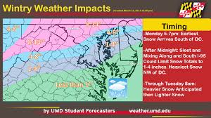 Map Of Dc Area Snow Update First Major Snow Storm Of The Season To Impact The