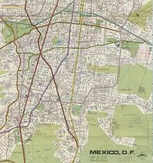 Road Map Of Mexico by Responsive Eyes Journal Of The Society Of Architectural Historians