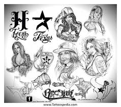 h town tattoo designs 1