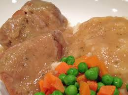 easy oven baked country style pork ribs u0026 gravy a bit of nutmeg