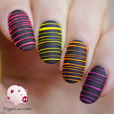 nail art 2015 piggieluv glow in the dark sugar spun nail art