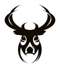 stag head designs deer head wall art shenra com