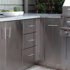 alluring outdoor kitchen cabinets outdoor modular kitchen cabinets