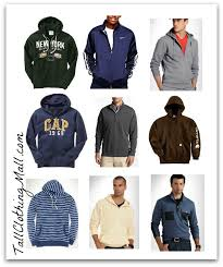 where to buy mens tall sweatshirts personal shopping tall
