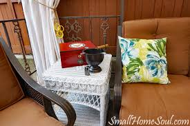 wicker table repair my patio refresh part 2 small home soul