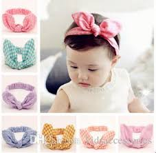 tie headbands tie headbands for sports plush bunny ears party hair