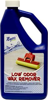 low odor wax remover and floor nl90456 nyco