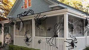 Skeleton Halloween Window Decorations by Skeleton In The Window Idea Party City