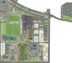 Map Of Denver Area The University Of Denver Official Athletic Site