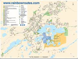Launch Maps Official Launch Of The Rainbow Routes Trail Maps Entertainment