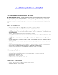 Resumes For Call Center Jobs by Call Center Job Duties For Resume Resume For Your Job Application