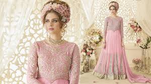 party wear gowns designs indo western styles latest designer long