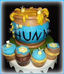 winnie the pooh baby shower ideas photo sweettreats by jen why image
