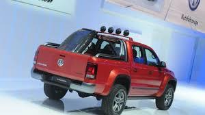 volkswagen truck concept volkswagen amarok canyon concept unveiled in geneva