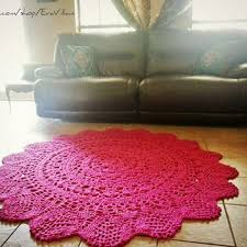 shop handmade round rugs on wanelo
