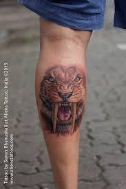 tiger by bhanushali at aliens malad india