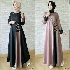 Baju Muslim Dewasa Ukuran Kecil 95 gamis syari cantik terbaru modern murah dari tanah abang
