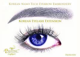 korean nano tech eyebrow embroidery face threading