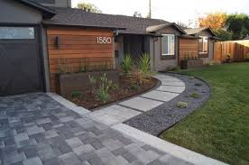 Walkway Ideas For Backyard captivating modern landscape designs for a modern backyard