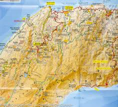 Delphi Greece Map by Hiking Map Of Ikaria Island Greece Terrain Cartography