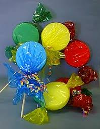 Fake Lollipop Decorations No Cal Lollipop Treats Candyland Yards And Candy Land