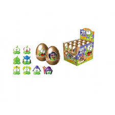 Where To Buy Chocolate Eggs With Toys Inside Surprise Chocolate Egg Cut The 2 With 3d Toy Inside