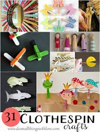 31 clever clothespin crafts u2013 do small things with love