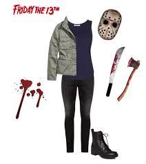 Halloween Costumes Jason Voorhees Female Jason Voorhees Friday 13th Cosplay Costume