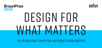 braunprize 2018 design for what matters create u0026 win