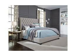 Bedroom Furniture Gulfport Ms Standard Furniture Westerly King Upholstered Bed With Button