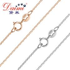 light chain necklace images Buy daimi 925 sterling silver chain fine chain jpg