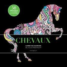 Black Premium Chevaux  Editions Marabout