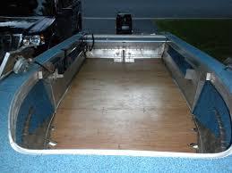 i am replacing the floor in my 16 1987 sylvan pro fisherman boat