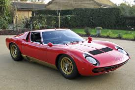rare rhd 1972 lamborghini miura sv hits the auction block