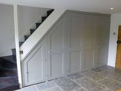 Painted Banister Ideas White And Gray Staircase With Wainscoting Built Ins Pinterest