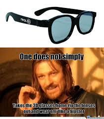 Glasses Meme - 3d glasses by likeabou5 meme center