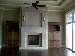 cast stone fireplace mantel and surround by lutcor homes inc