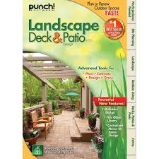 Free Patio Design Software by Amazon Com Punch Landscape Deck And Patio Designer V17 5