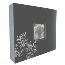 photo album 3 ring binder gray embroidered 3 ring scrapbook album 12 x 12 hobby lobby