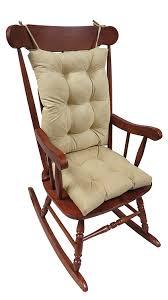 Rocking The Chair Amazon Com The Gripper Non Slip Rocking Chair Cushion Set