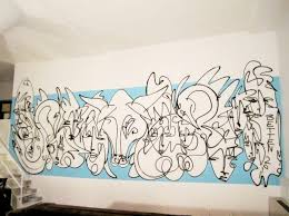 urban art murals by jordan betten or lost art fairy blue an urban art mural of faces and animals spray painted by jordan betten