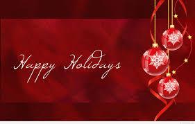 happy holidays winter